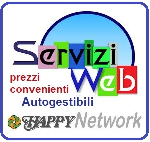 serviziweb happynetwork